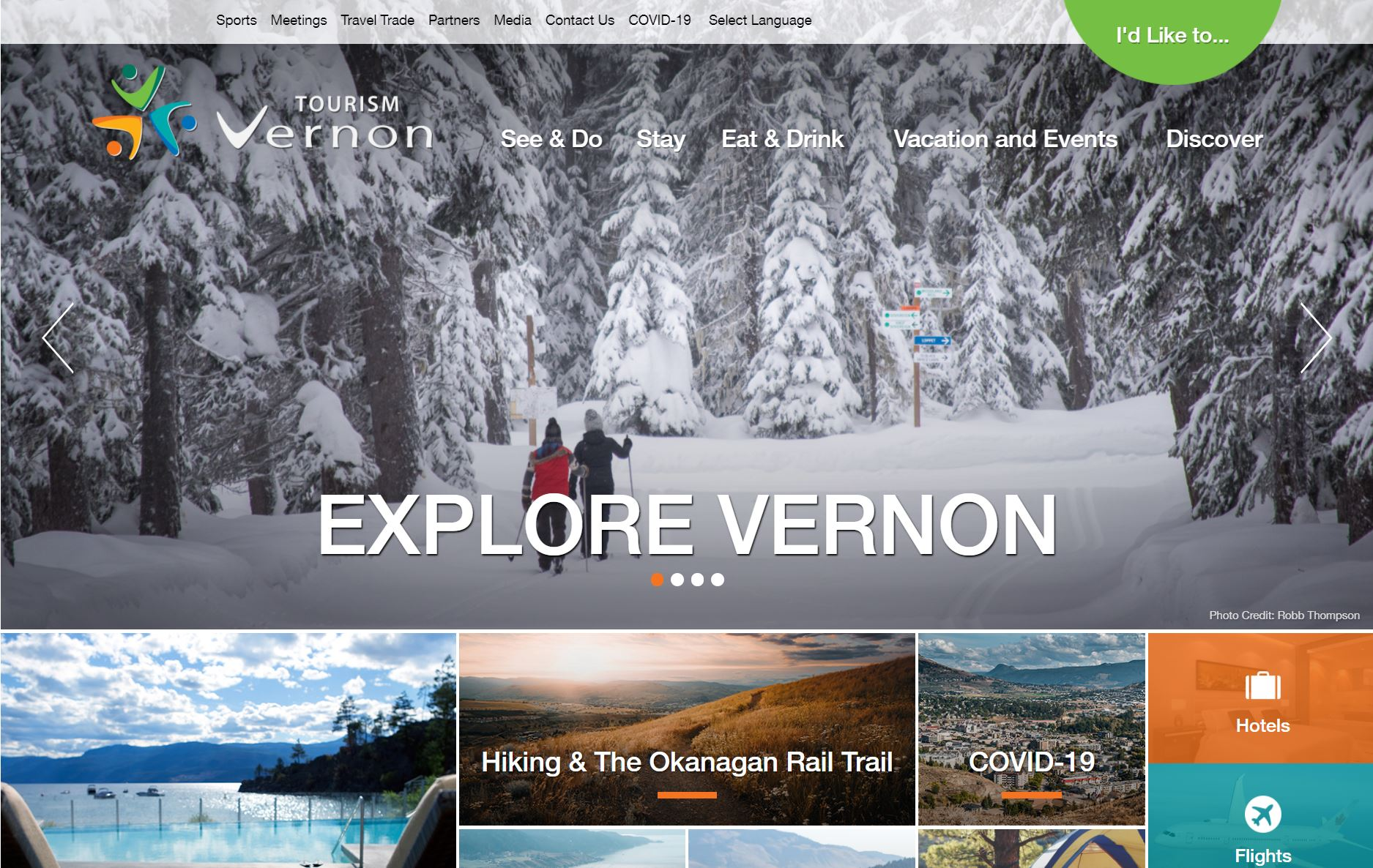Vernon Visitor Servicing Goes Mobile