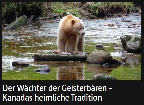 Great Bear Rainforest Documentary Broadcast in Germany and France