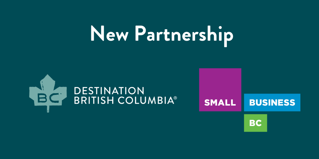Small Business BC Partners with Destination BC
