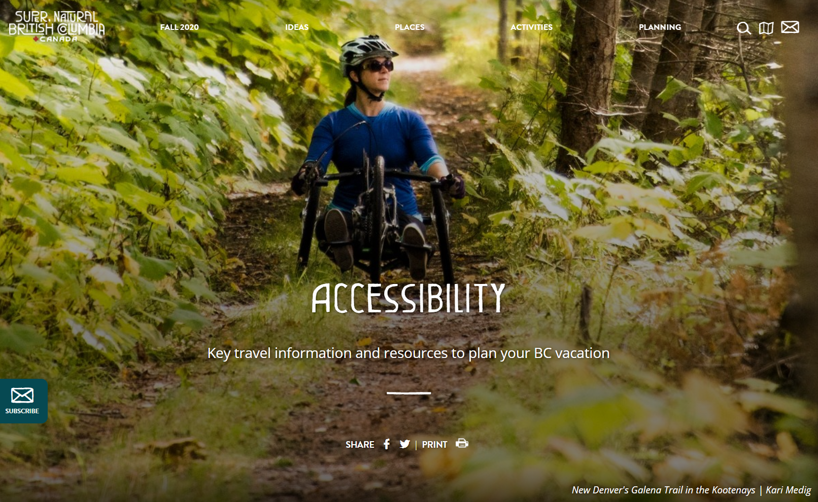 Accessible Website Recognition for HelloBC.com