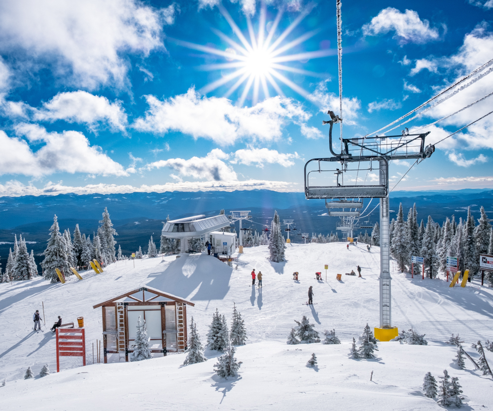 Big White Ski Resort is one of many tourism operators across the province seeing an increase in bookings over the past week.
