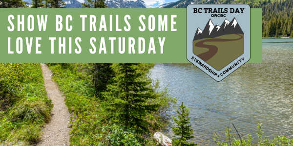 The first BC Trails Day is Saturday, June 5.