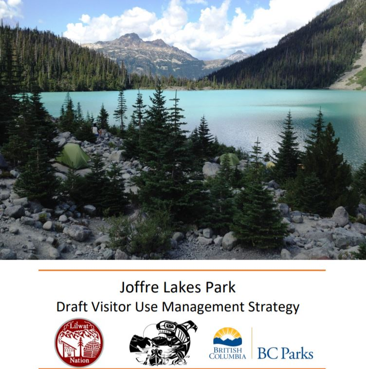 Joffre Lakes Provincial Park visitor strategy posted for public comment