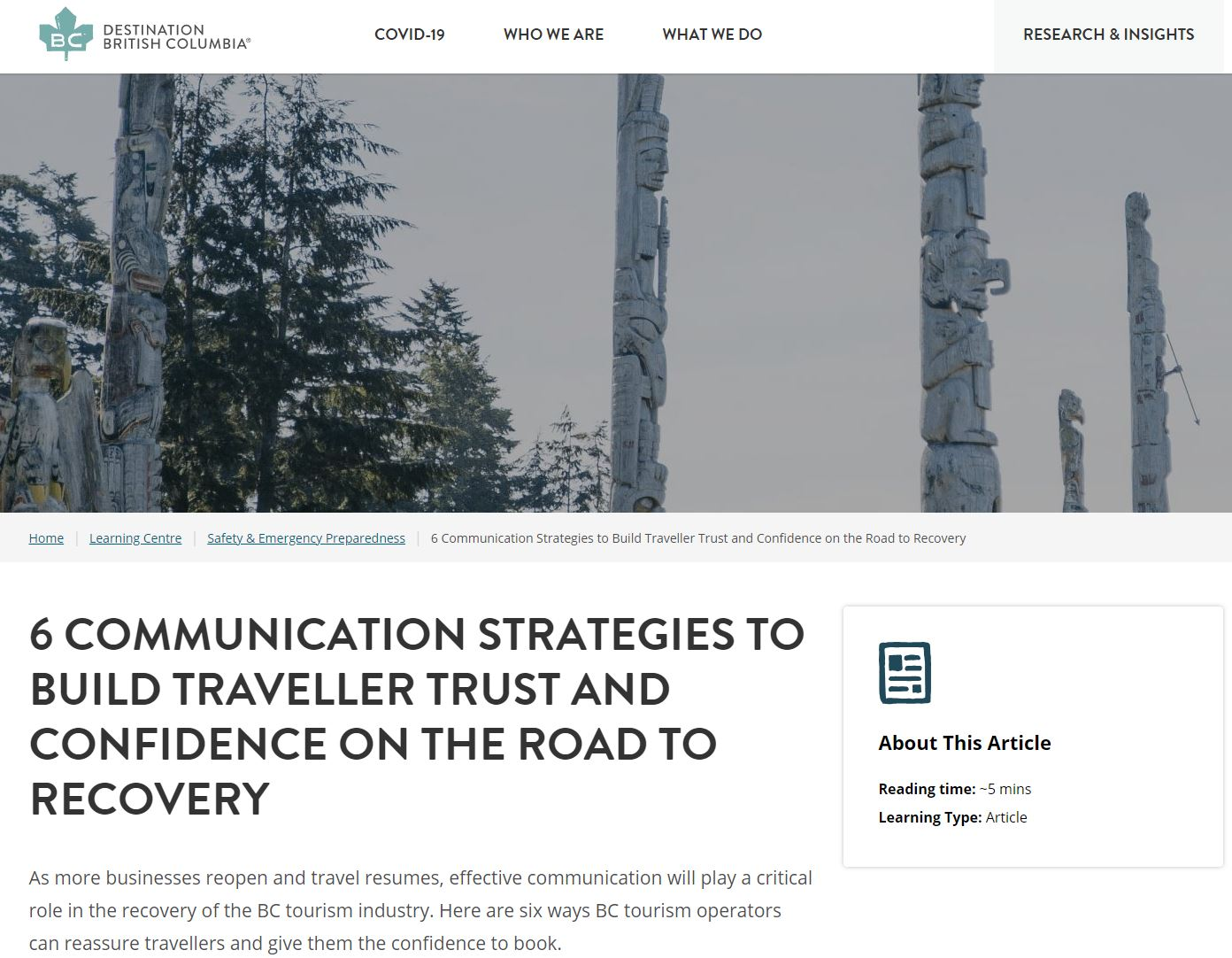 6 Communication Strategies to Build Consumer Trust and Confidence on the Road to Recovery