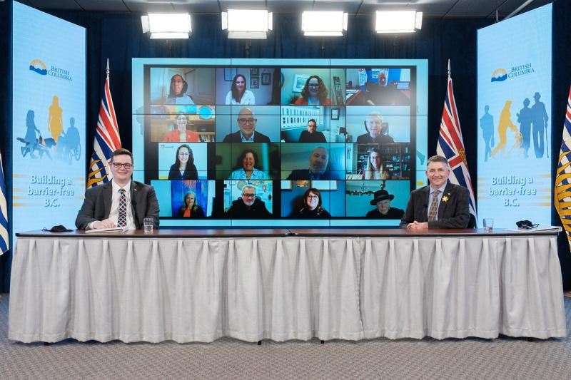 The legislation offers a framework to improve the lives of over 900,000 British Columbians living with a disability.