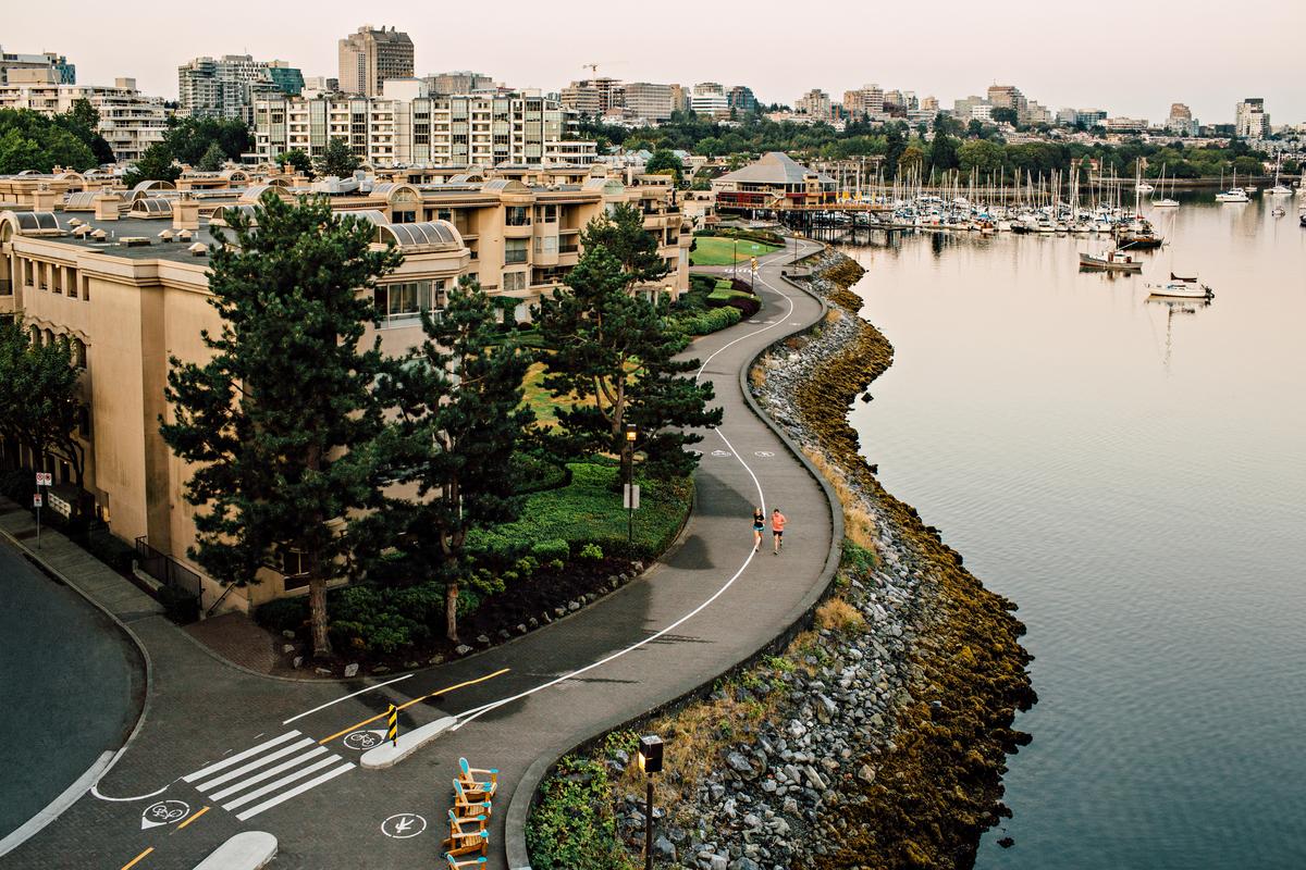 Should Formula E come to Vancouver, the route would wind along False Creek.