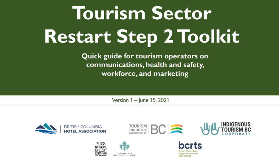 The toolkit will be updated as we move through each step of BC's Restart Plan.