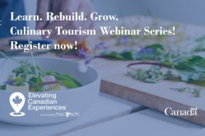 Tourism Industry Association of BC Free Culinary Tourism Webinar Series