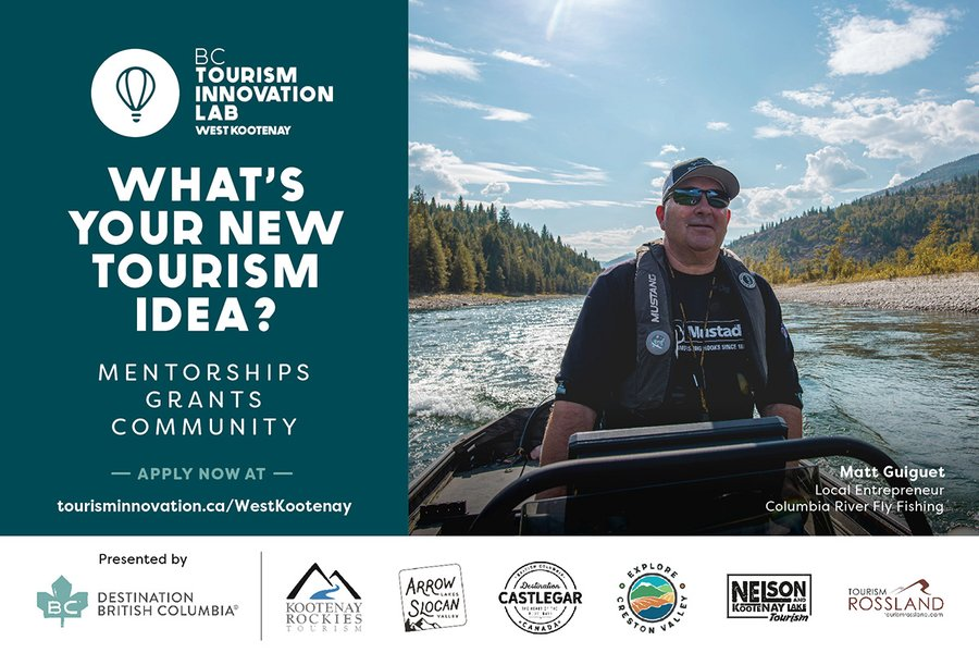 The West Kootenay 'Spark' program is seeking passionate people in the West Kootenay area with a creative tourism idea.