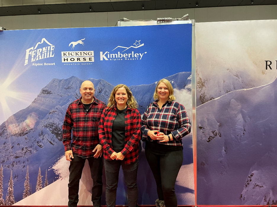 The Canadian Pavilion was a partnership effort led by Destination British Columbia, and included Destination Canada, BC Ski Resorts and the Yukon, NWT, and Banff and Lake Louise.