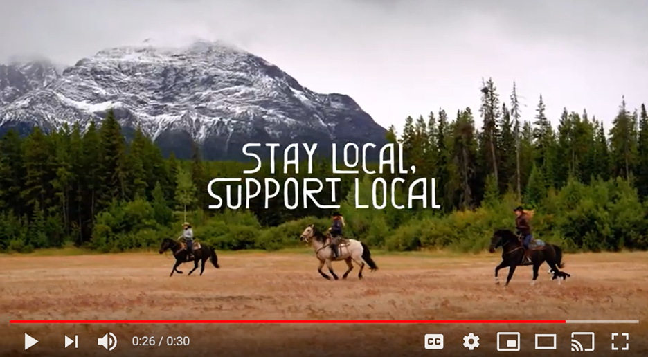 Destination BC's 'Stay Local, Support Local' PSA will air acrossmajor news channels and social platforms.