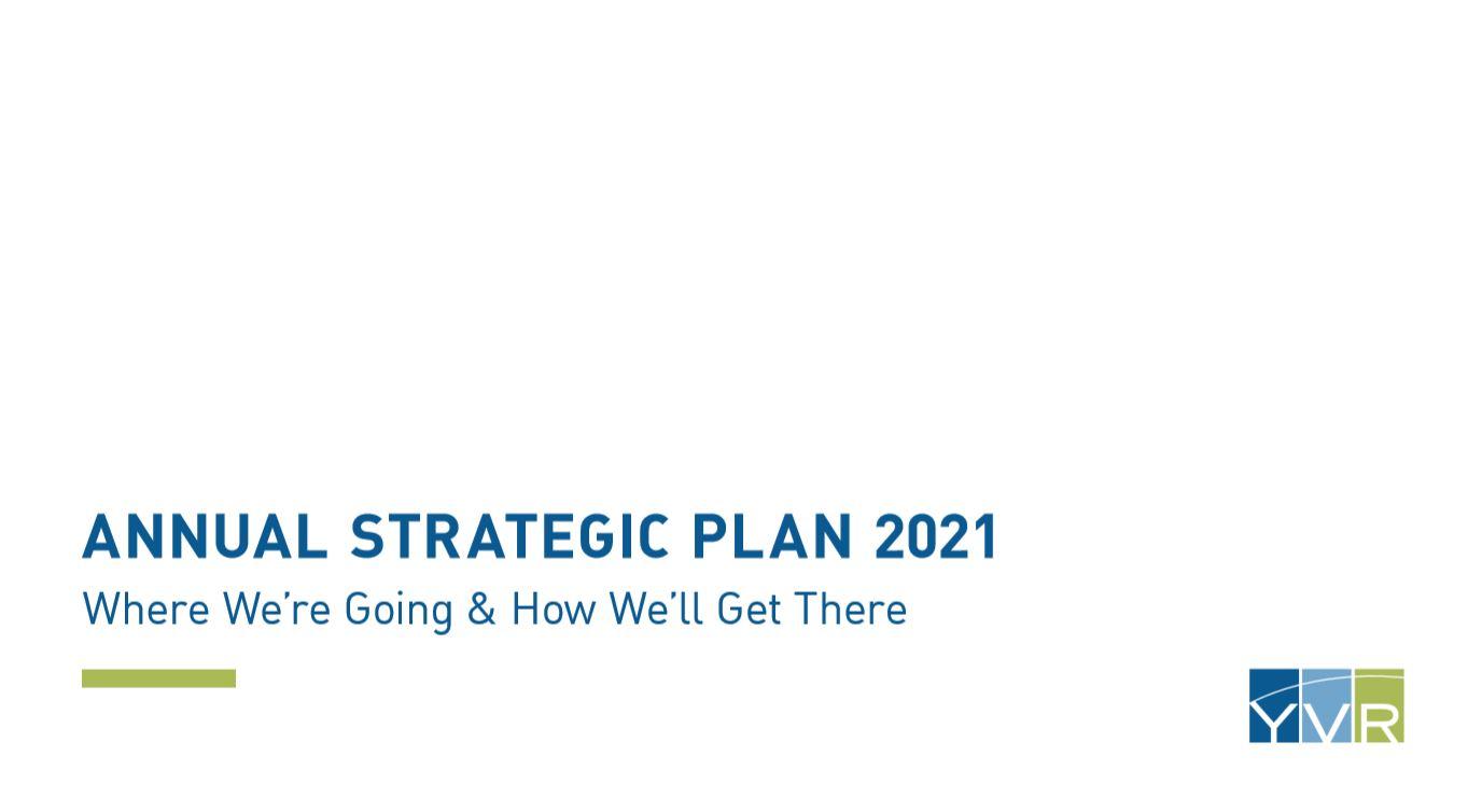 YVR Launches 2021 Annual Strategic Plan