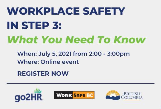Workplace Safety Webinar - July 5, 2021