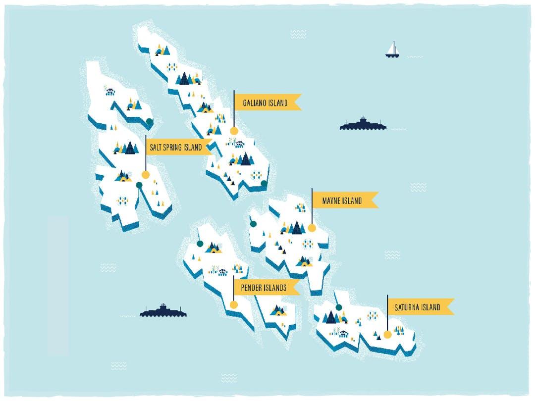 BC Ferries Southern Gulf Islands Schedule Enhancement
