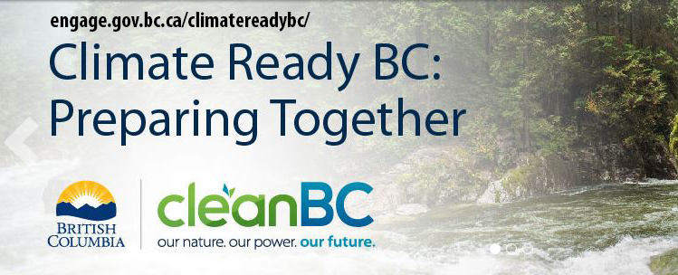 Email comments to ClimateReadyBC@gov.bc.ca.