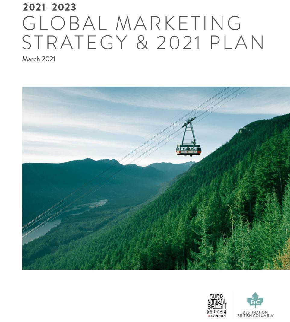 Destination BC 2021-2023 Global Marketing Strategy & 2021 Plan